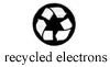 Made with 100% Recycled Electrons